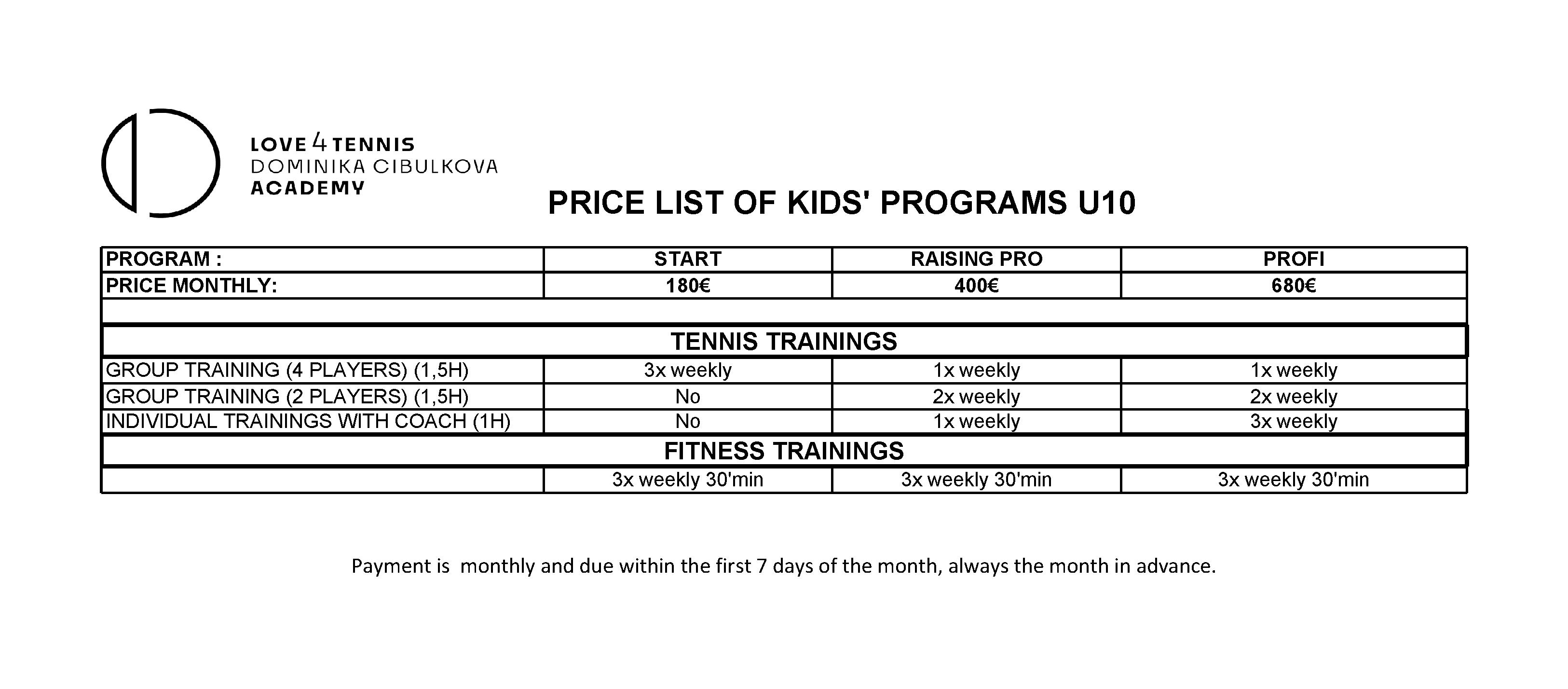 Price list academy - ENG (2)-2 (1)