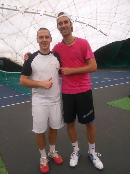 CARO Martin, GOMBOS Norbert (103 ATP)