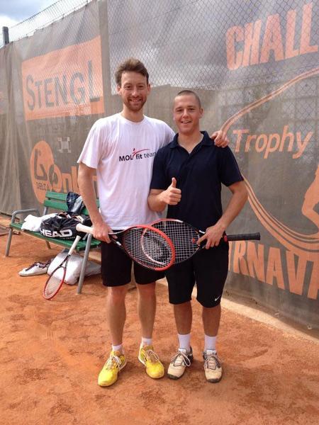 MEČÍŘ Miloslav junior (169 ATP), CARO Martin