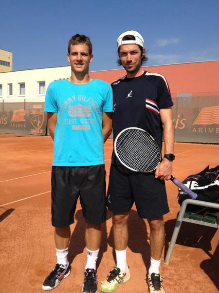 SÍKORA Adrian (275 ATP), CSARNAKOVICS Erik