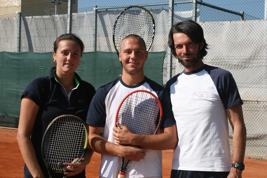 LUKACS Vanda (453 WTA), CARO Martin, CSARNAKOVICS Erik